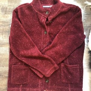 Croft & Barrow speckled fleece